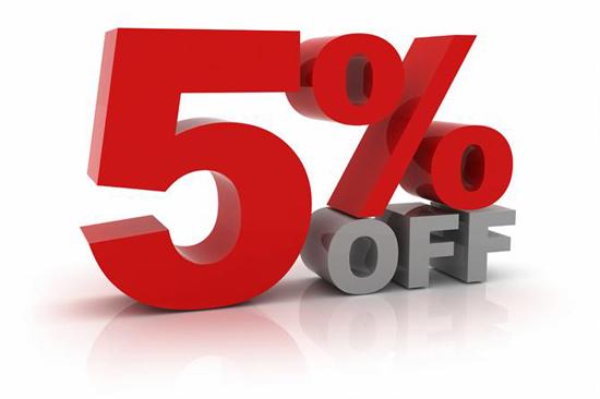 Siêu thị ghế văn phòng giảm giá 5 phần trăm khi mua ghế văn phòng số lượng lớn