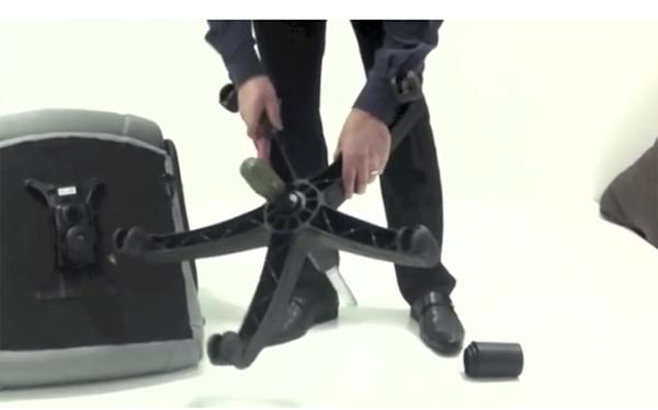 Hướng dẫn cách tháo ghế xoay văn phòng