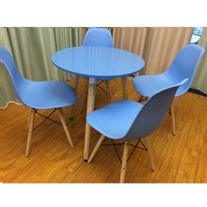 Bộ bàn tiếp khách màu xanh dương SBK09