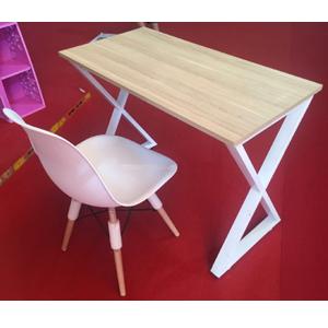Bộ bàn làm việc chân chữ X (50cm x 1m2) SBBG01