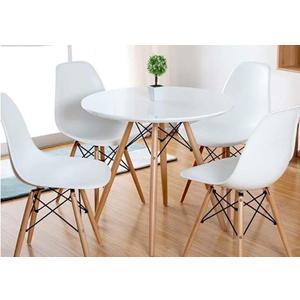 Bộ bàn ghế tiếp khách nhựa chân gỗ SBG10